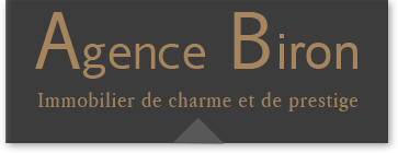 Logo Agence Biron - Agence immobilière - Real Estate Agency